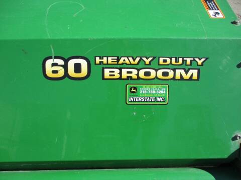 John Deere HEAVY DUTY 60' BROOM/SWEEPER