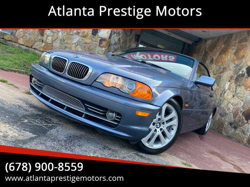 2002 BMW 3 Series for sale at Atlanta Prestige Motors in Decatur GA
