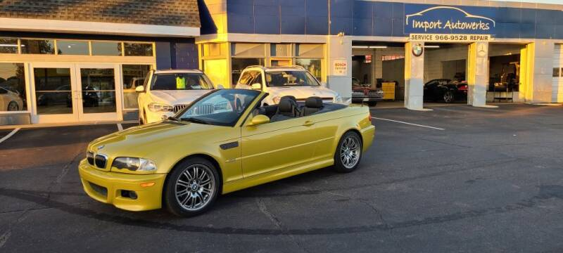 2003 BMW M3 for sale at Import Autowerks in Portsmouth VA