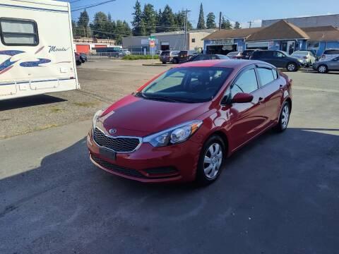 2014 Kia Forte for sale at TacomaAutoLoans.com in Tacoma WA