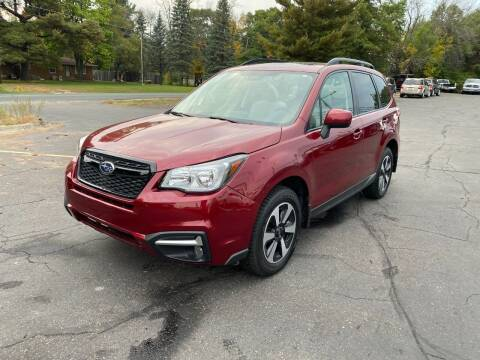 2018 Subaru Forester for sale at Northstar Auto Sales LLC in Ham Lake MN