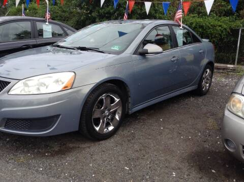 2009 Pontiac G6 for sale at Lance Motors in Monroe Township NJ