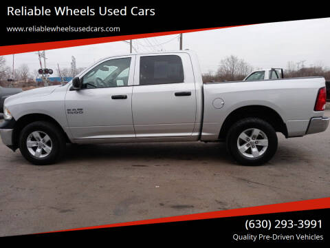 2016 RAM Ram Pickup 1500 for sale at Reliable Wheels Used Cars in West Chicago IL