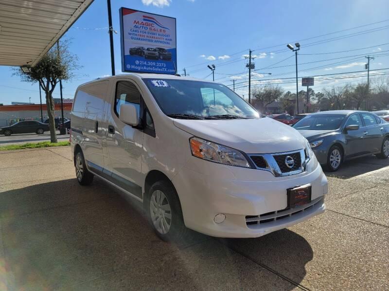 2018 Nissan NV200 for sale at Magic Auto Sales in Dallas TX