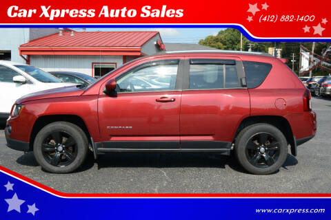 2014 Jeep Compass for sale at Car Xpress Auto Sales in Pittsburgh PA