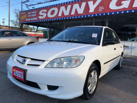2004 Honda Civic for sale at Sonny Gerber Auto Sales in Omaha NE