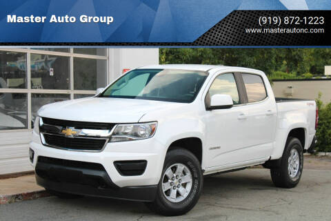 2016 Chevrolet Colorado for sale at Master Auto Group in Raleigh NC