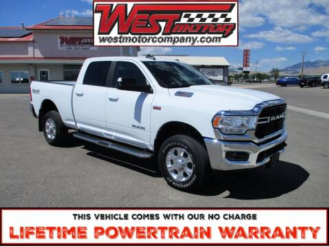 2020 RAM Ram Pickup 2500 for sale at West Motor Company in Hyde Park UT