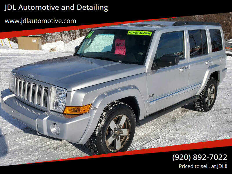 2006 Jeep Commander for sale at JDL Automotive and Detailing in Plymouth WI