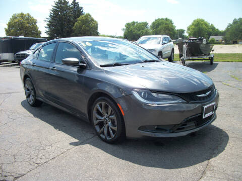 2016 Chrysler 200 for sale at USED CAR FACTORY in Janesville WI
