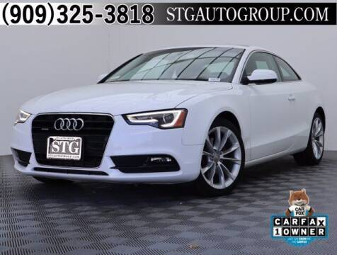 2014 Audi A5 for sale at STG Auto Group in Montclair CA