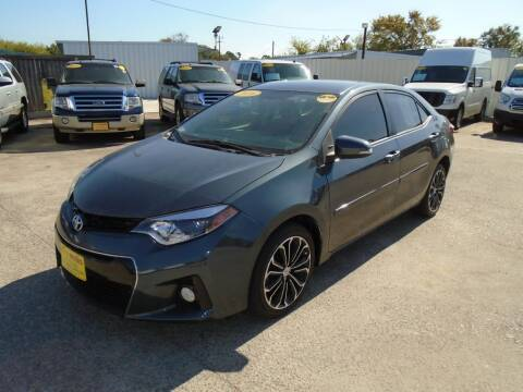 2016 Toyota Corolla for sale at BAS MOTORS in Houston TX