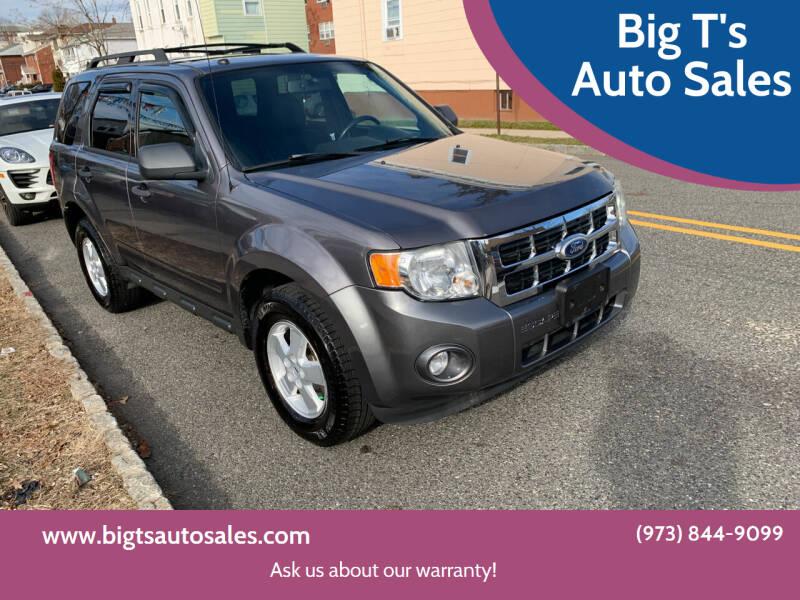 2010 Ford Escape for sale at Big T's Auto Sales in Belleville NJ