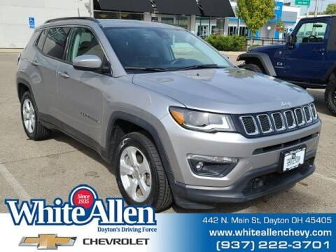 2018 Jeep Compass for sale at WHITE-ALLEN CHEVROLET in Dayton OH