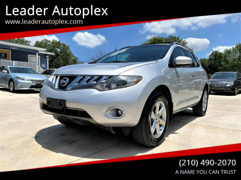 2009 Nissan Murano for sale at Leader Autoplex in San Antonio TX