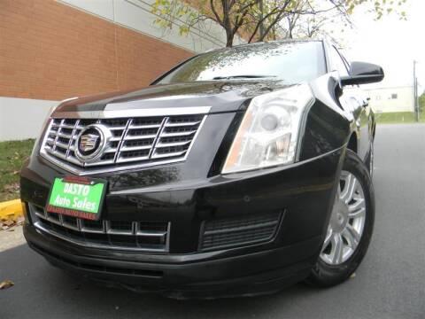 2013 Cadillac SRX for sale at Dasto Auto Sales in Manassas VA