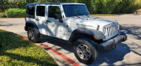 2014 Jeep Wrangler Unlimited for sale at Motorcars Group Management - Bud Johnson Motor Co in San Antonio TX