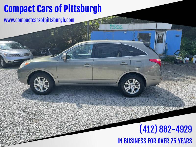 2008 Hyundai Veracruz for sale at Compact Cars of Pittsburgh in Pittsburgh PA