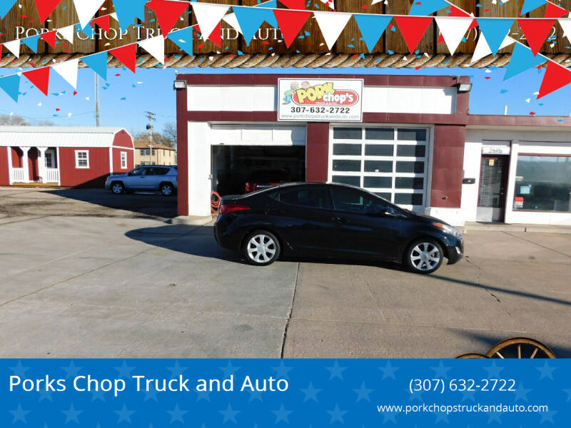2013 Hyundai Elantra for sale at Pork Chops Truck and Auto in Cheyenne WY