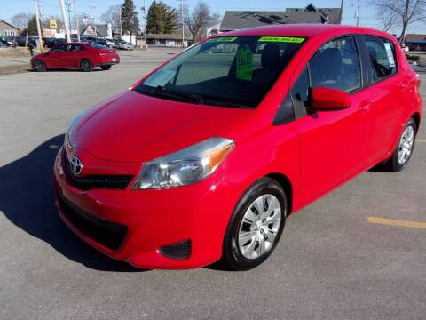 2014 Toyota Yaris for sale at Ideal Auto Sales, Inc. in Waukesha WI