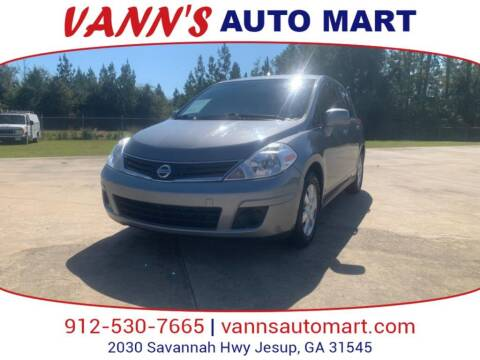 2012 Nissan Versa for sale at VANN'S AUTO MART in Jesup GA