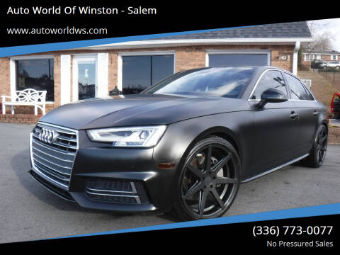 2018 Audi A4 for sale at Auto World Of Winston - Salem in Winston Salem NC