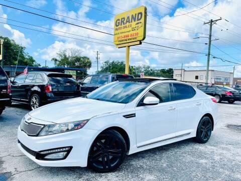 2013 Kia Optima for sale at Grand Auto Sales in Tampa FL