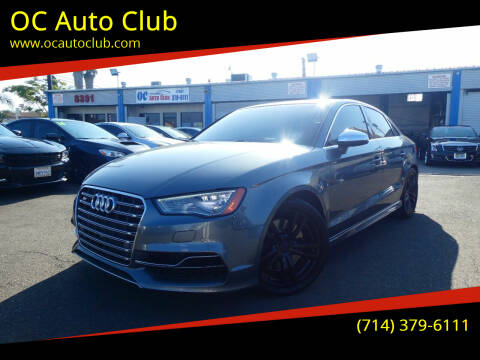 2015 Audi S3 for sale at OC Auto Club in Midway City CA