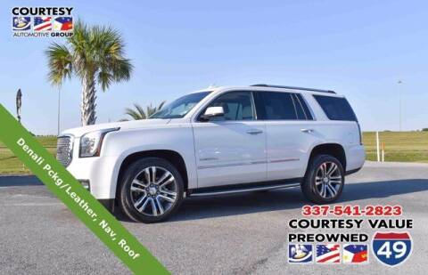 2017 GMC Yukon for sale at Courtesy Value Pre-Owned I-49 in Lafayette LA