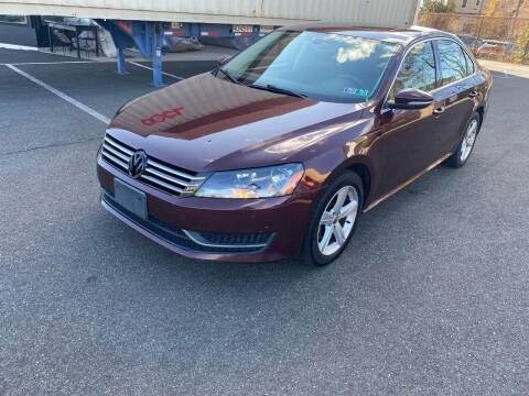 2012 Volkswagen Passat for sale at MAGIC AUTO SALES in Little Ferry NJ