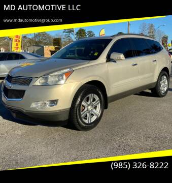 2011 Chevrolet Traverse for sale at MD AUTOMOTIVE LLC in Slidell LA