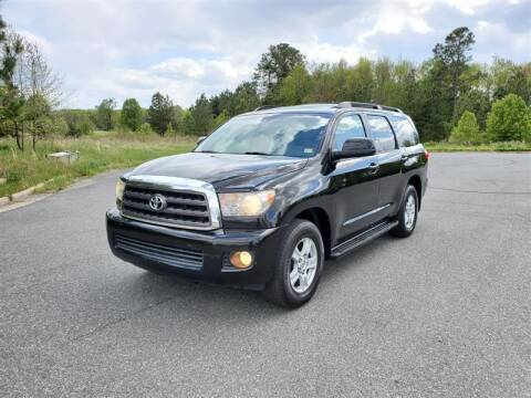 2008 Toyota Sequoia for sale at Apex Autos Inc. in Fredericksburg VA