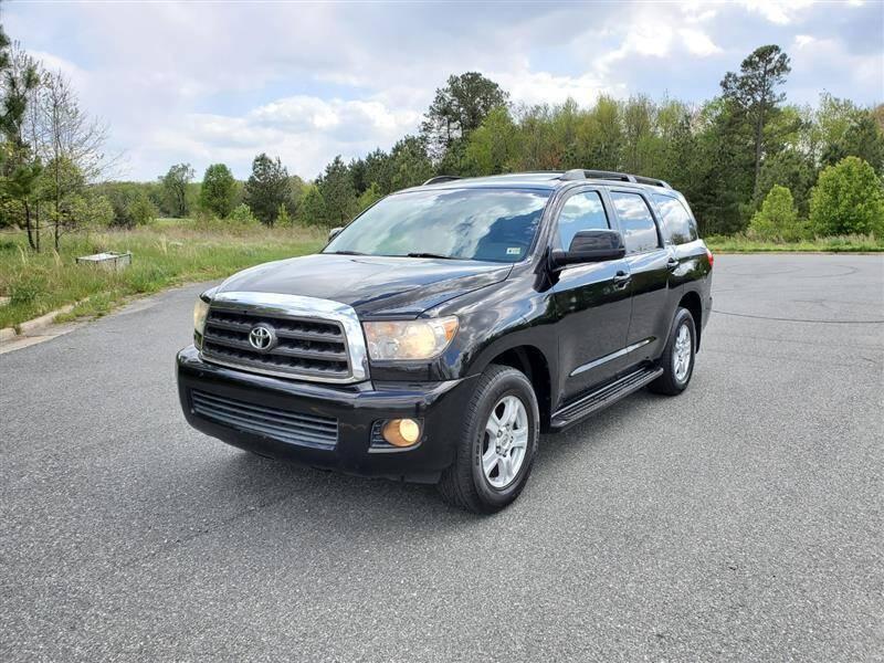 2008 Toyota Sequoia for sale at Apex Autos Inc. in Fredericksburg VA