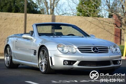 2003 Mercedes-Benz SL-Class for sale at Galaxy Autosport in Sacramento CA