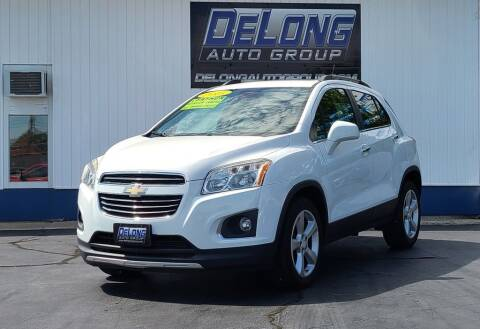 2015 Chevrolet Trax for sale at DeLong Auto Group in Tipton IN