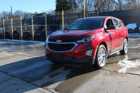 2018 Chevrolet Equinox for sale at F & M AUTO SALES in Detroit MI