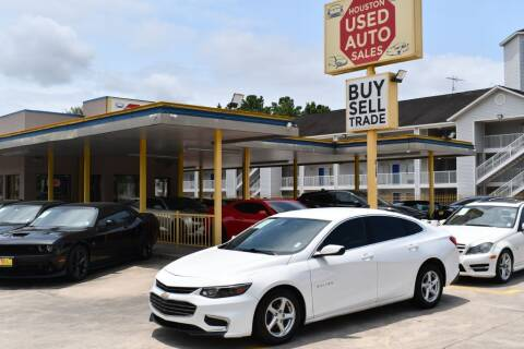 2017 Chevrolet Malibu for sale at Houston Used Auto Sales in Houston TX