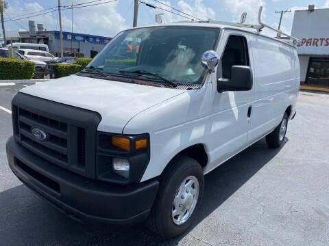 2011 Ford E-Series Cargo for sale at PJ AUTO WHOLESALE in Miami FL