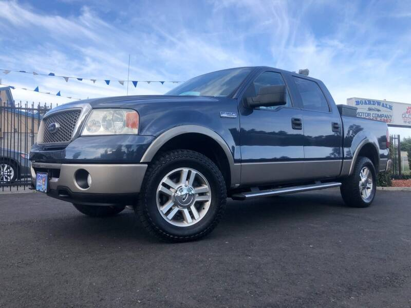 2006 Ford F-150 for sale at BOARDWALK MOTOR COMPANY in Fairfield CA