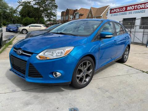 2013 Ford Focus for sale at Apollo Motors INC in Chicago IL