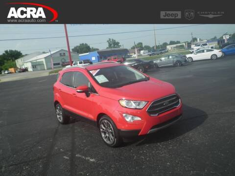 2019 Ford EcoSport for sale at BuyRight Auto in Greensburg IN