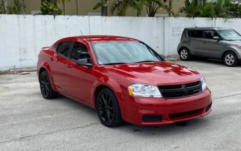 2014 Dodge Avenger for sale at FINE AUTO XCHANGE in Oakland Park FL