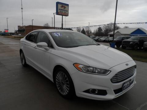 2015 Ford Fusion for sale at America Auto Inc in South Sioux City NE