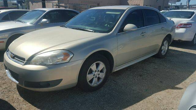 2010 Chevrolet Impala for sale at Hotline 4 Auto in Tucson AZ