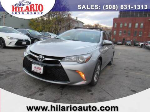 2015 Toyota Camry for sale at Hilario's Auto Sales in Worcester MA