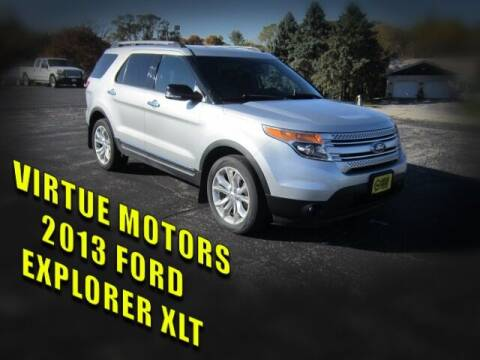 2013 Ford Explorer for sale at Virtue Motors in Darlington WI
