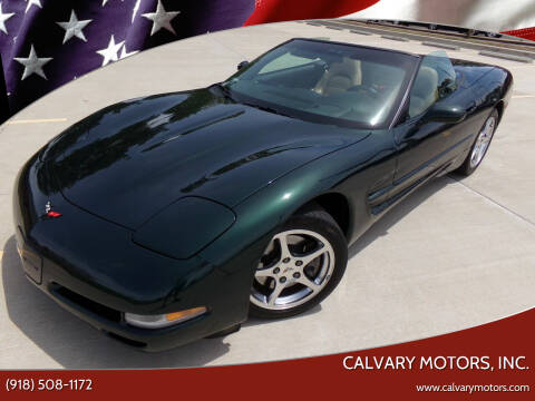2001 Chevrolet Corvette for sale at Calvary Motors, Inc. in Bixby OK