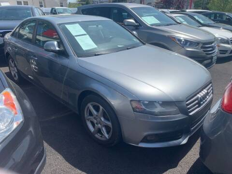 2009 Audi A4 for sale at Park Avenue Auto Lot Inc in Linden NJ