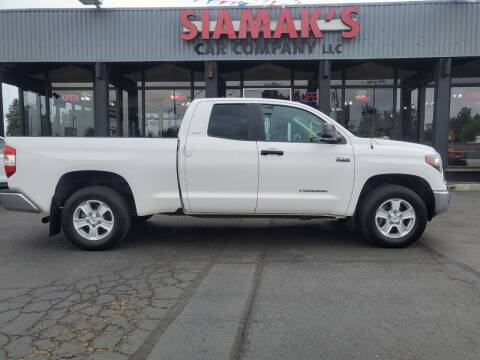 2018 Toyota Tundra for sale at Siamak's Car Company llc in Salem OR