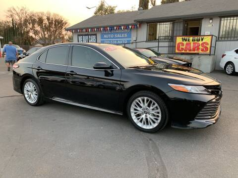 2018 Toyota Camry for sale at Blue Diamond Auto Sales in Ceres CA
